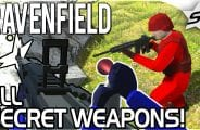 Ravenfield: How To Get All Secret Weapons