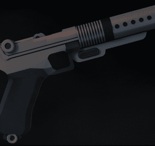 A180 Blaster Pistol Mod for Ravenfield