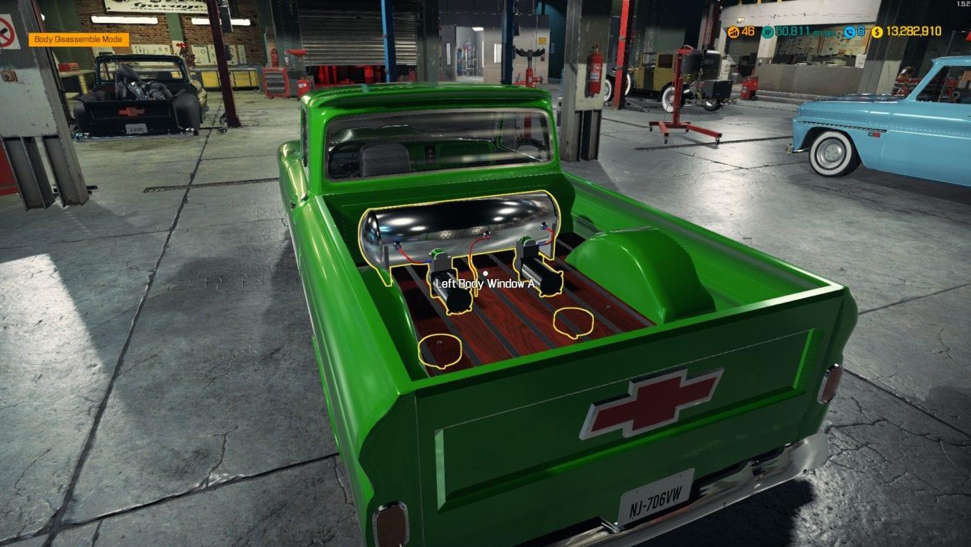1966 Chevy C10 Mod for Car Mechanic Simulator 2018