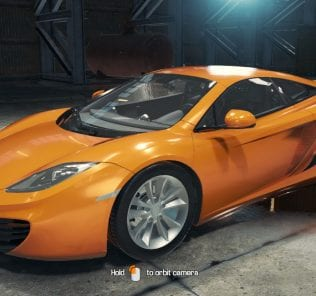 2011 McLaren MP4-12C Mod for Car Mechanic Simulator 2018