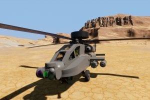 AH-64 Apache Longbow Mod for Brick Rigs