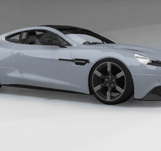 Aston Martin Vanquish 2013 Mod for BeamNG Drive