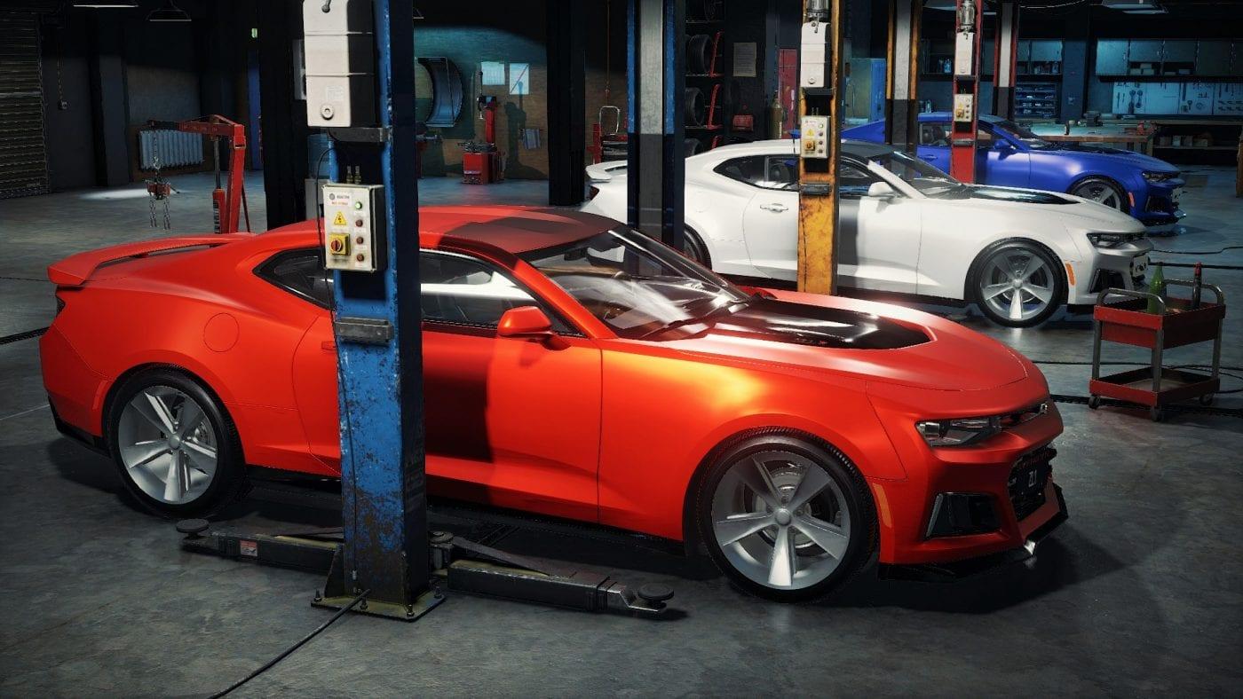 Chevrolet Camaro Zl1 2017 Mod For Car Mechanic Simulator 2018