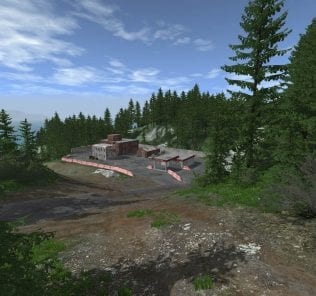 Cliff Roads 1.4 Mod for BeamNG Drive
