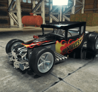 Hot Wheels Boneshaker Mod for Car Mechanic Simulator 2018