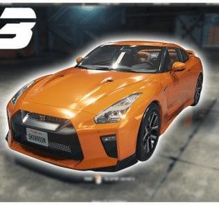 Nissan GT-R Premium (2017) Mod for Car Mechanic Simulator 2018
