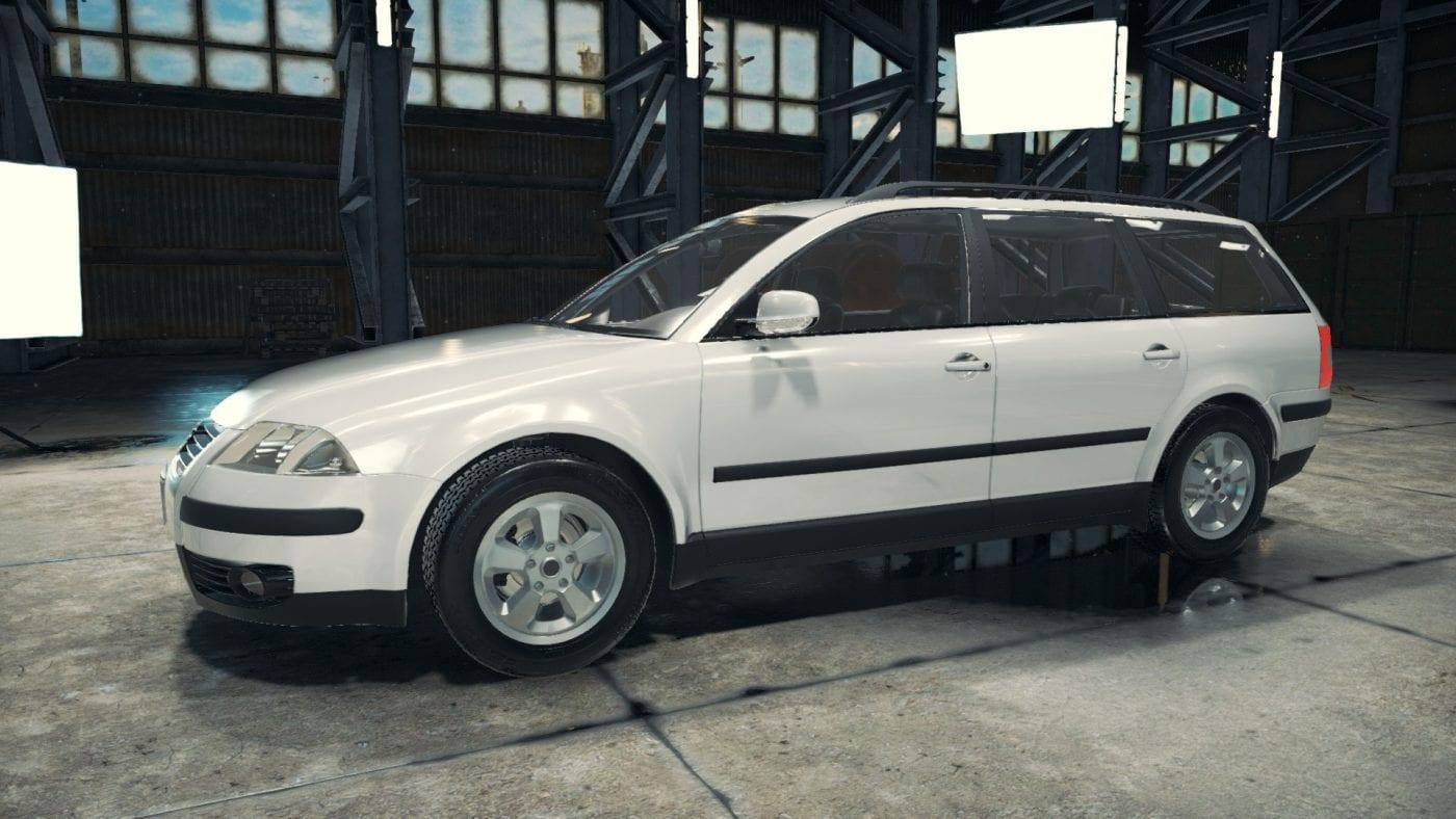 Passat B5 Mod for Car Mechanic Simulator 2018