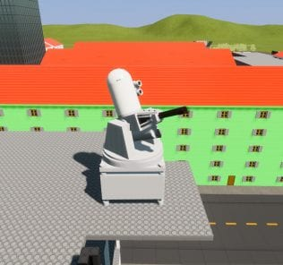 Phalanx CIWS Mod for Brick Rigs