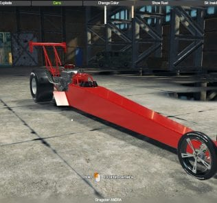 Top Fuel Dragster Mod for Car Mechanic Simulator 2018