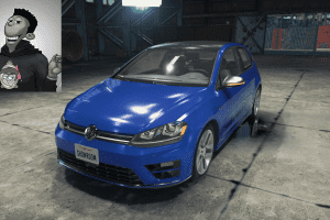Volkswagen Golf R Mod for Car Mechanic Simulator 2018