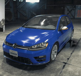 Volkswagen Golf R Mod for Car Mechanic Simulator 2018