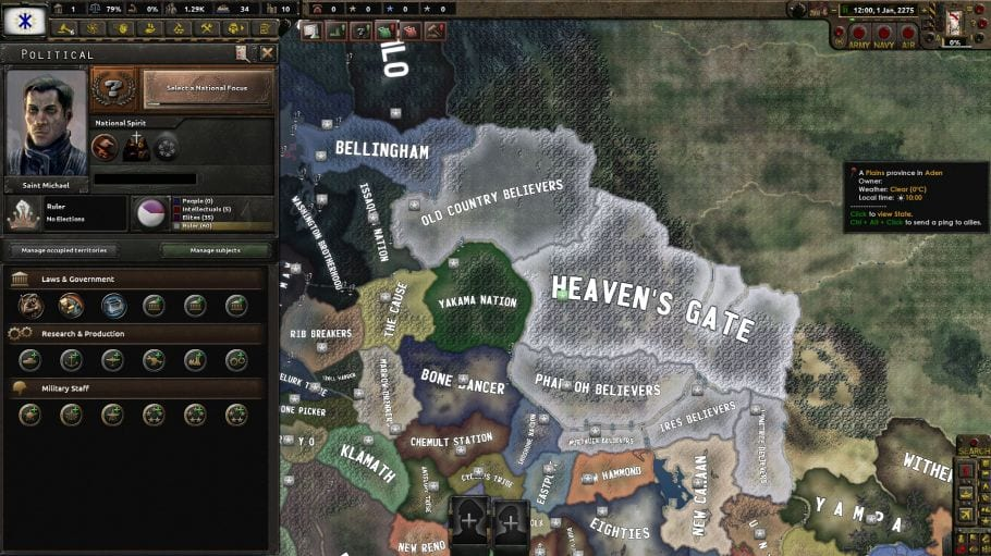 Old World Blues: Puppet Overhaul Mod for Hearts of Iron IV