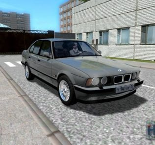 BMW M5 E34 Mod for City Car Driving v.1.5.7
