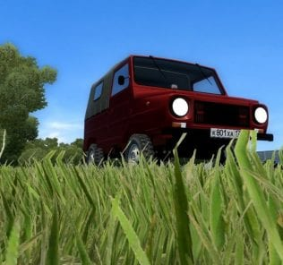 LUAZ 969M Mod for City Car Driving v.1.5.7
