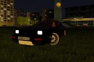 Nissan 240SX Mod for City Car Driving v.1.5.7