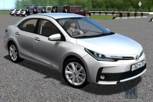 Toyota Corolla E190 2017 Mod for City Car Driving v.1.5.7