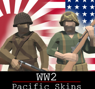WW2 Pacific Skins (SNLF and USMC) Mod for Ravenfield