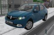 Renault Logan 1.6i MT/AT Luxe Privilege 2014 Mod for City Car Driving v.1.5.7