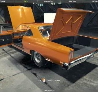 1969 Plymouth Mod for Car Mechanic Simulator 2018