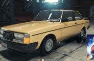 1984 Volvo 242 Mod for Car Mechanic Simulator 2018