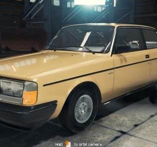 1984 Volvo 242 Mod for Car Mechanic Simulator 2018