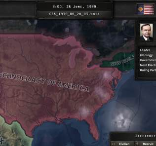American Totalists Mod for Hearts of Iron IV