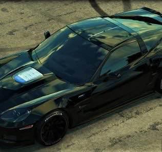 Chevrolet Corvette C6 ZR1 2009 Mod for Car Mechanic Simulator 2018