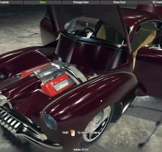 Holden EFIJY Concept Mod for Car Mechanic Simulator 2018
