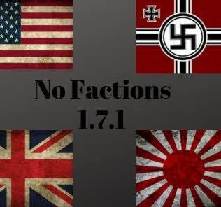 NoFactionsUpdated Mod for Hearts of Iron IV