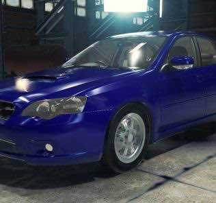 Subaru Legacy B4 2.0GT Mod for Car Mechanic Simulator 2018