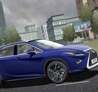 2017 Lexus RX350 Mod for City Car Driving v.1.5.8