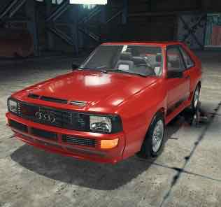 Audi Sport Quattro Mod for Car Mechanic Simulator 2018
