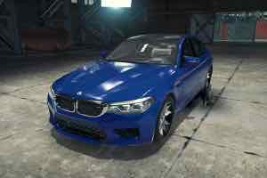 BMW M5 F90 Mod for Car Mechanic Simulator 2018