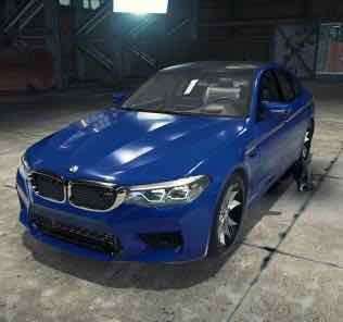 BMW M5 F90 Mod for Car Mechanic Simulator 2018