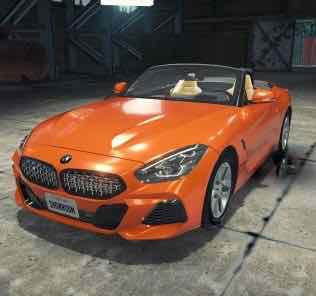 BMW Z4 Mod for Car Mechanic Simulator 2018