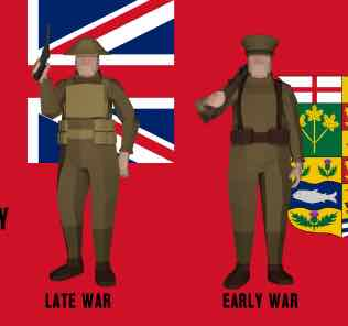 Canadian Expeditionary Force [Project RF1] Mod for Ravenfield