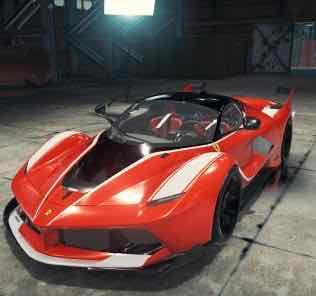 Ferrari FXX K Mod for Car Mechanic Simulator 2018