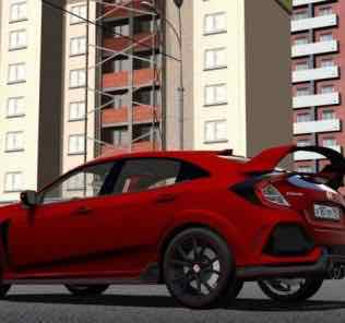 Honda Civic Type R 2018 Mod for City Car Driving v.1.5.8