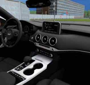 Kia Stinger GT 2018 Mod for City Car Driving v.1.5.8