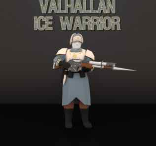 Valhallan Ice Warrior Mod for Ravenfield
