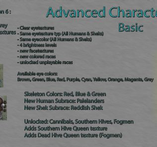 Advanced Character Creation - Basic Mod for Kenshi