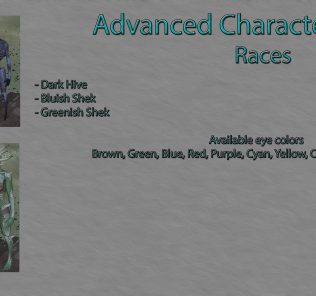 Advanced Character Creation - Races Mod for Kenshi