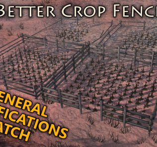 Better Crop Fences GenMod Patch Mod for Kenshi