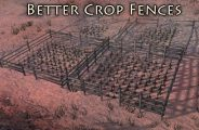 Better Crop Fences Mod for Kenshi