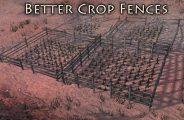 Better Crop Fences Mod for Kenshi