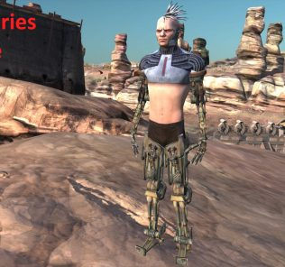 Retexture of robotic limbs Mod for Kenshi