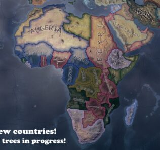 Africa Rethought V1.1 [READ BELOW] Mod for Hearts of Iron IV