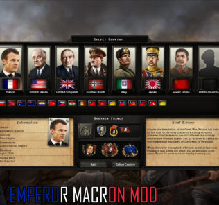 Emperor Macron Mod Mod for Hearts of Iron IV