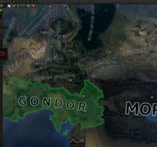 Lord Of The Ring - no tanks nor air Mod for Hearts of Iron IV