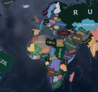 Novum Vexillum Country Recolor Mod for Hearts of Iron IV